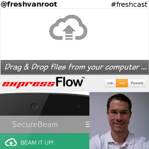 podcast cover expressflow securebeam