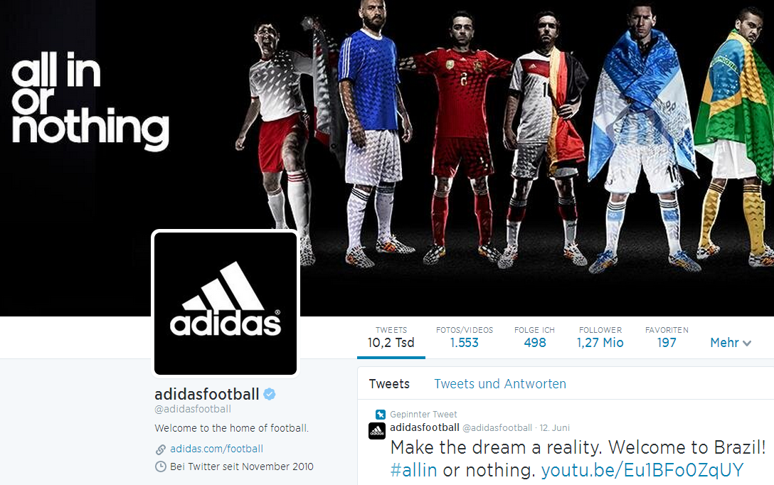 adidas allin or nothing