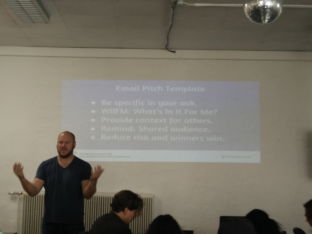 Zu beachten beim Pitch via eMail