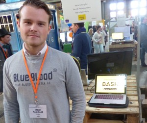 Bash App Co-Founder at Uprise Festival 2015
