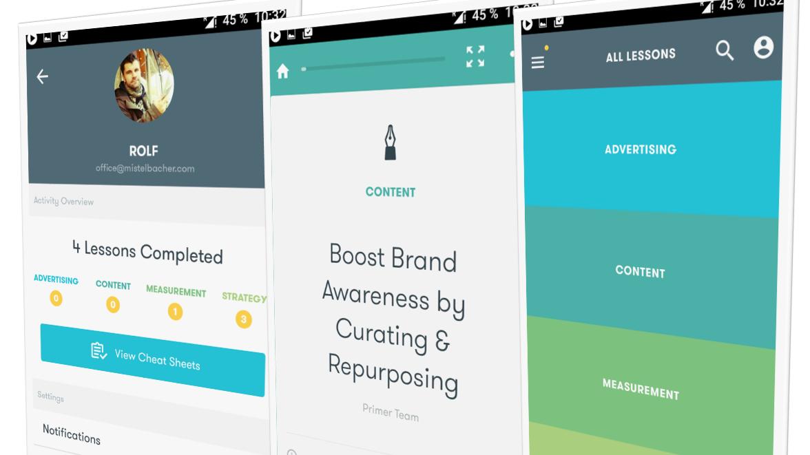 Primer App von Google - Onlinemarketing für Einsteiger