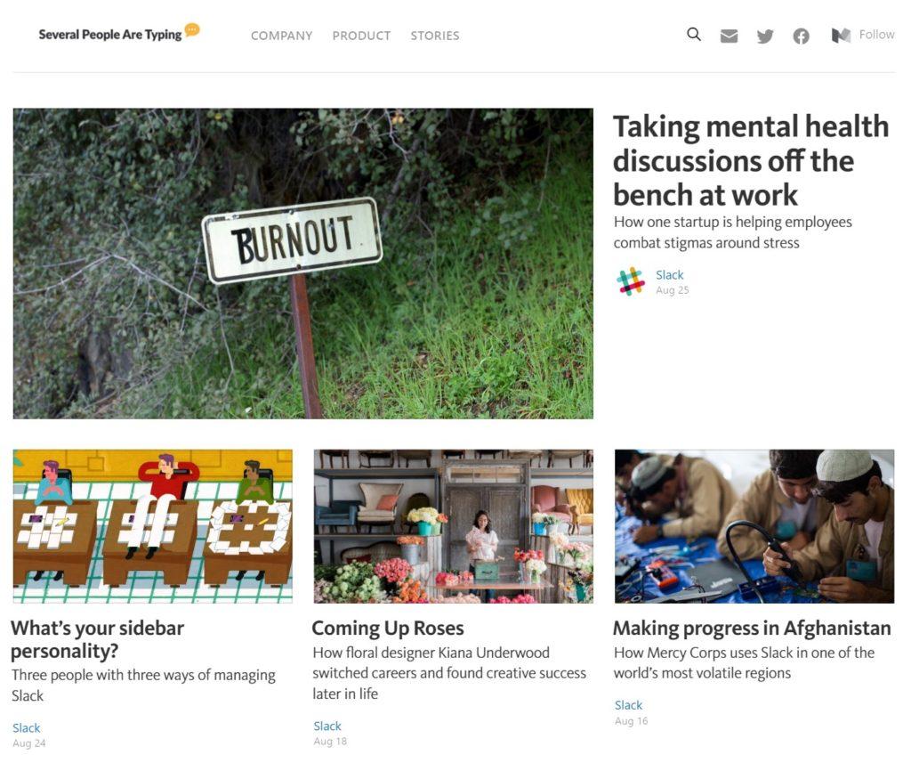 The Slack Blog (Publication) on Medium.com