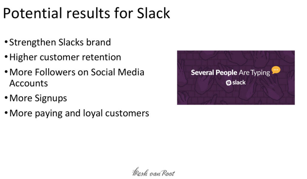 What content marketing brings to Slack