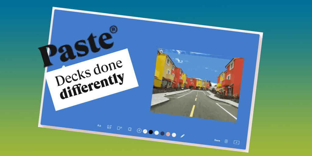 Paste by WeTransfer - Blog Review